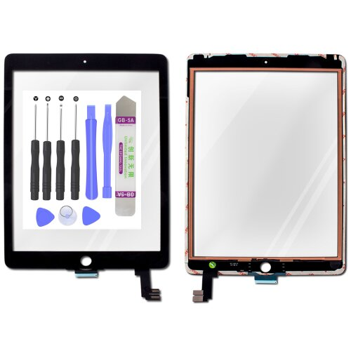 Original Apple ipad Air 2 A1567 Display LCD Touchscreen Digitizer Glas Scheibe S