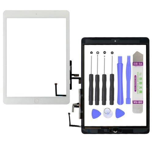 "iPad Air 1 9.7"" A1474 A1475 A1476 Touch Screen Display Glas Scheibe Digitizer Weiß"