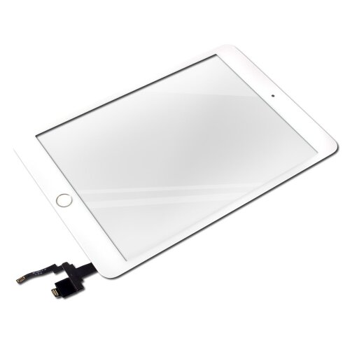 iPad Mini 3 Touch Screen LCD Digitizer Glas Panel Glasscheibe inkl.Klebepads Weiß