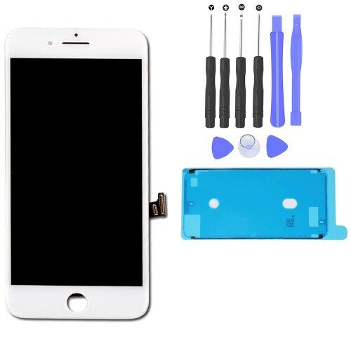 """iPhone 7 Plus 5,5"""" Retina LCD Display Scheibe 3D Touch Screen Digitizer Bildschirm Weiß"""