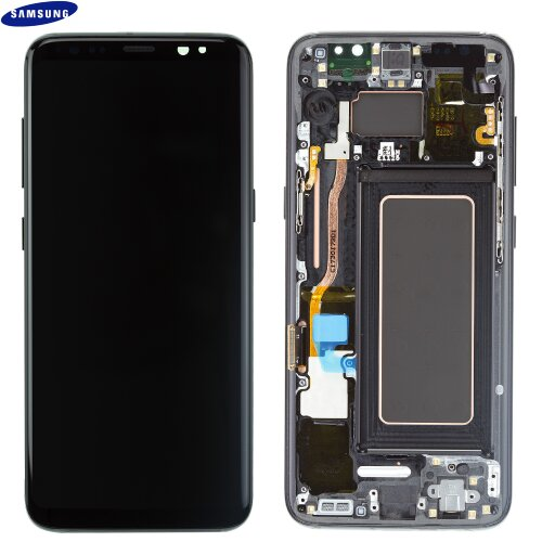 Samsung Galaxy S8 SM-G950F LCD Display+Touch Screen Bildschirm GH97-20457A Black