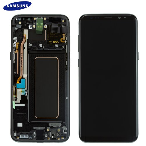 Samsung Galaxy S8 Plus G955F LCD Display Touch Screen Bildschirm Schwarz GH97-20564A