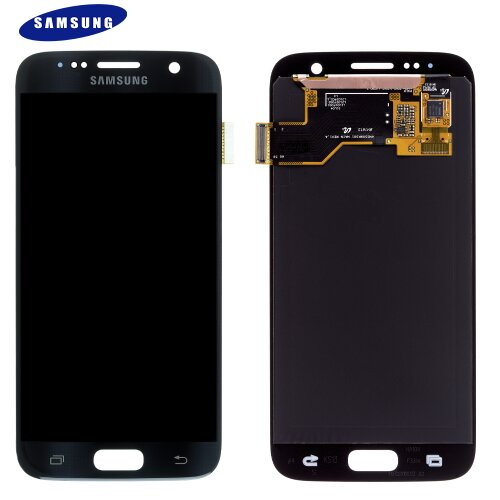Samsung Galaxy S7 SM-G930F LCD Display + Touch Screen (Service Pack) GH97-18523A Schwarz
