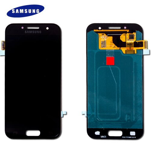 Original Samsung A3 (2017) SM-A320F LCD Display+Touch Screen Bildschirm Schwarz