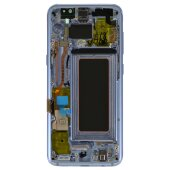 Samsung Galaxy S8 SM-G950F LCD Display Touch Screen Bildschirm Komplett Blau (Service Pack) GH97-20457D