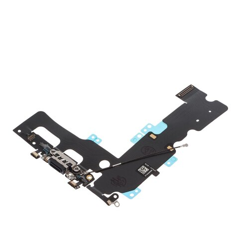 iPhone 7 Plus 5.5 Dock Connector Antenne Flex Kabel Lightning Ladebuchse Mikrofon Black