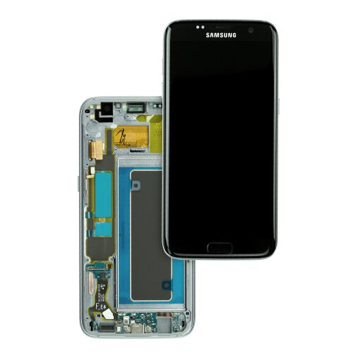 Samsung Galaxy S7 EDGE G935F LCD Display+Touch Screen Bildschirm Black GH97-18533A / GH97-18767A