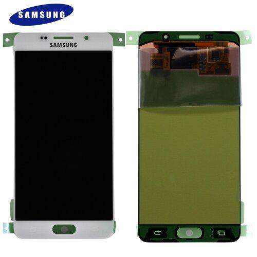 Samsung Galaxy A5 2016 SM-A510F LCD Display+Touch Screen Bildschirm GH97-18250A Weiß