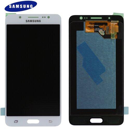Samsung Galaxy J5 2016 SM-J510F LCD Display Touch Screen Bildschirm Weiß (Service Pack)
