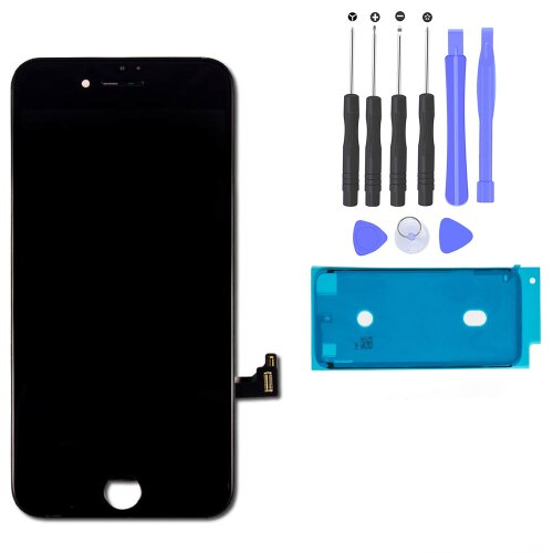 iPhone 7 Retina LCD Display Scheibe 3D Touch Screen Digitizer Bildschirm Schwarz
