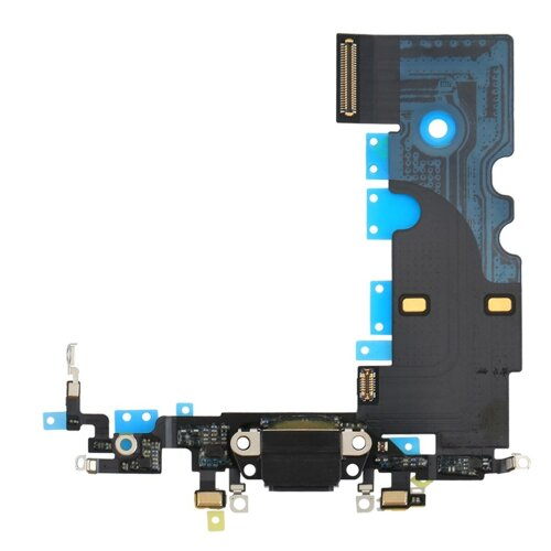 Dock Connector für Apple iPhone 8 Antenne Flex Kabel Ladebuchse Mikrofon Schwarz