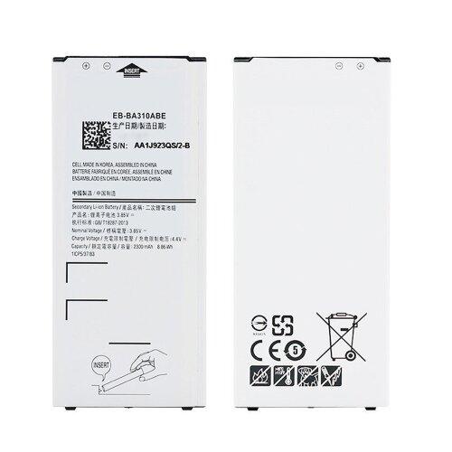 Akku für Samsung Galaxy A3 (2016) SM-A310F Battery EB-BA310ABE 2300 mAh