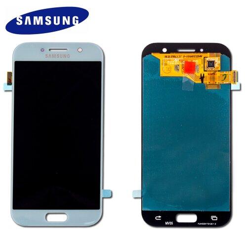 Samsung Galaxy A5 2017 A520F LCD Display+Touch Screen Bildschirm Blau GH97-19733C / GH97-20135C