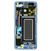 Samsung Galaxy S9 SM-G960F LCD Display Touch Screen Bildschirm Coral Blau GH97-21696D / GH97-21697D