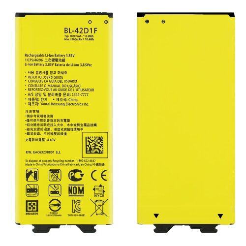 Akku für LG G5 H850 H820 H830 H840 H860 G5 SE H845 BL-42D1F Batterie 2800 mAh