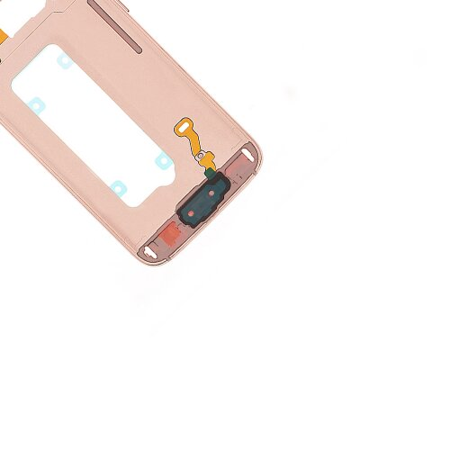 Samsung Galaxy S7 SM-G930F Mittel Rahmen LCD Rahm Gehäuse Middle Frame Cover Pink