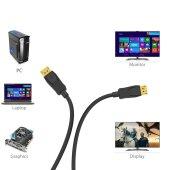 3 Meter Display Port auf Display Port Displayport Kabel DP Anschlusskabel FullHD