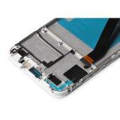 Original Huawei Y6 2018 LCD Display +Touch Glas Screen Bildschirm Rahmen Weiß