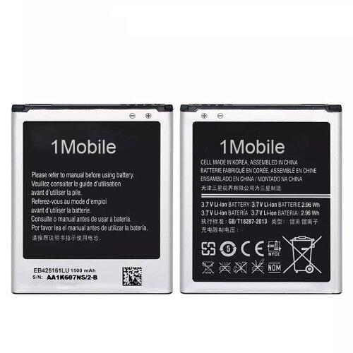 (1Mobile) Akku Battery für Samsung Galaxy S3 Mini i8190 Ace 2 i8160 DuoS S7562 1500 mAh