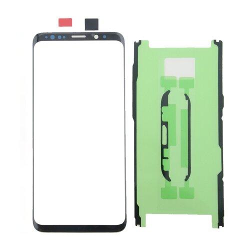 Touchscreen für Samsung Galaxy S9 G960F Glas Front Ersatz Scheibe Schwarz