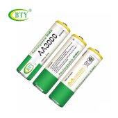 BTY Wiederaufladbare Wiederaufladbar Akku Batterien Batterie Accu AA 3000 mAh
