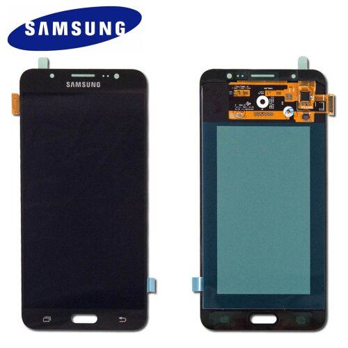 Samsung Galaxy J7 SM-J710F LCD Display Touch Screen Glas Bildschirm (Service Pack) Schwarz