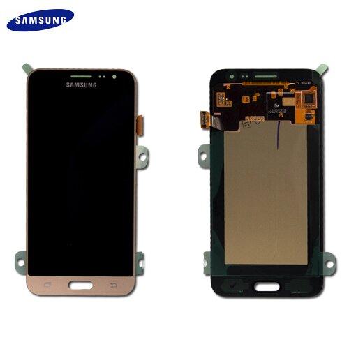 Samsung Galaxy J3 2016 SM-J320F LCD Display Touch Screen Gold GH97-18414B / GH97-18748B