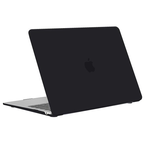 Apple MacBook Air 13 Retina Schutz Hülle Hard Cover Slim Case A1932 (2018) Black