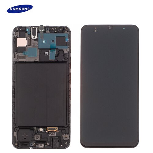 Samsung Galaxy A50 A505F GH82-19204A LCD Display Touch Screen (Service Pack) Black