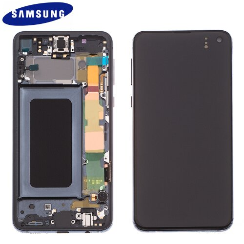 Samsung Galaxy S10e G970F GH82-18852A LCD Display Touch Screen Prism Black