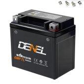 Gel Motorrad Batterie YTX7L-BS GTX7L-BS 50614LF 12V 7Ah ATV Motorroller Quad Wartungsfrei