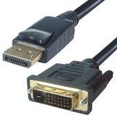 1,5m Displayport DVI Kabel   Display Port auf DVI-D DVI 24+1 Stecker DP Adapter 1080P
