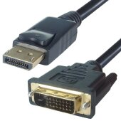 2m Displayport DVI Kabel | Display Port auf DVI-D DVI 24+1 Stecker DP Adapter 1080P