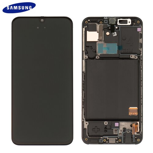 Samsung Galaxy A40 A405 GH82-19672A LCD Display Touch Screen (Service Pack) Black