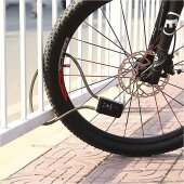 Bluetooth Smart Fahrrad Schloss Panzerschloss Motorradschloss Kabelschloss mit Alarm (Für Android, IOS)