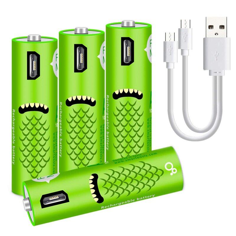 aa wiederaufladbare wiederaufladbar akku batterien batterie mit micro. Black Bedroom Furniture Sets. Home Design Ideas