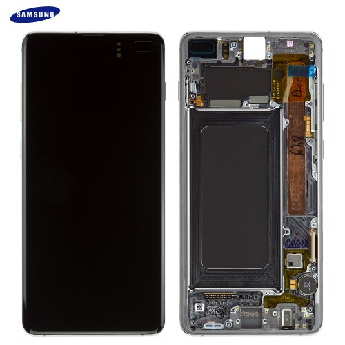 Samsung Galaxy S10 Plus G975F GH82-18834A LCD Display Touch Screen (Service Pack) Prism Black