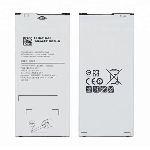 Akku Battery für Samsung Galaxy A5 2016 SM-A510F EB-BA510ABE 2900 mAh