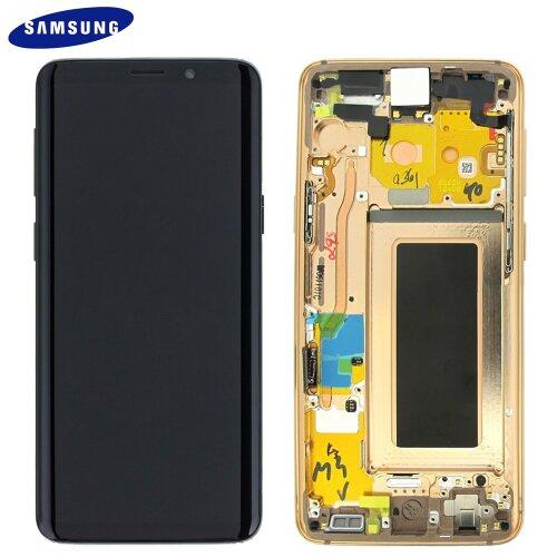 Samsung Galaxy S9 SM-G960F LCD Display Touch Screen Bildschirm Gold (Service pack) GH97-21696E