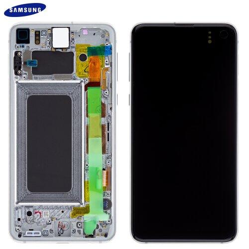 Samsung Galaxy S10e G970F GH82-18852B LCD Display Touch Screen (Service Pack) Weiß