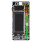 Samsung Galaxy S10 G973F GH82-18850B LCD Display Touch Screen (Service Pack) Prism White