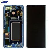 Samsung Galaxy S9 Plus SM-G965F LCD Display+Touch Screen Bildschirm Coral Blue (Service Pack)