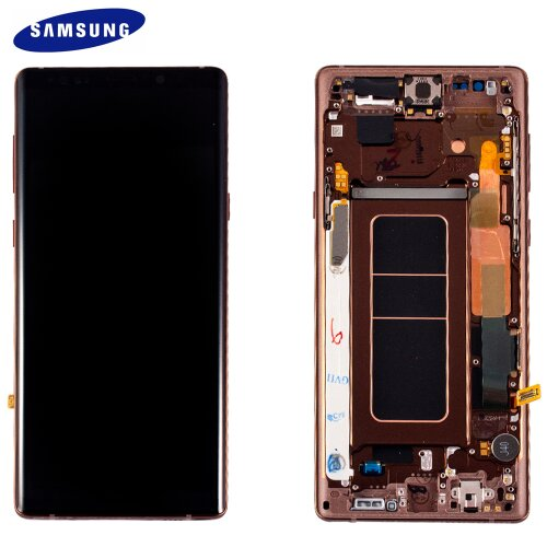Samsung Galaxy Note 9 SM-N960F GH97-22269D LCD Display Touch Screen Copper Gold