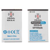 1Mobile Batterie Nokia 6300 6300i 6301 6136 7270 6260...