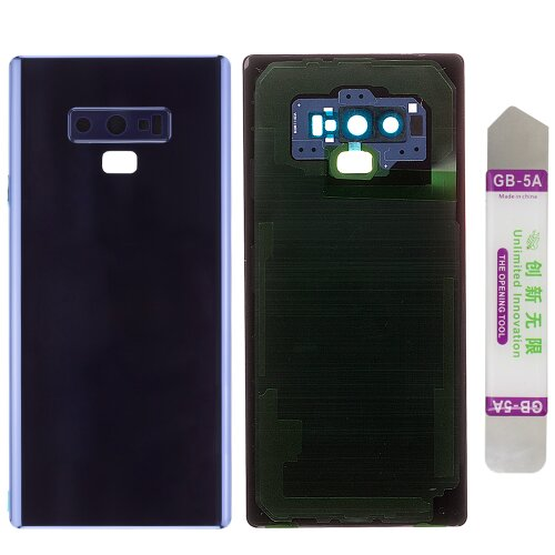 Akkudeckel für Samsung Galaxy Note 9 SM-N960F mit Kamera Linse Backcover Deckel Blau