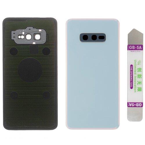 Akkudeckel für Samsung Galaxy S10e SM-G970F mit Kamera Linse Backcover Deckel Weiß