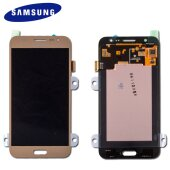 Samsung Galaxy J5 J500F/FN/H LCD Display+Touch Screen Bildschirm GH97-17667C Gold