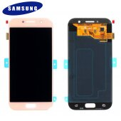 Samsung Galaxy A5 2017 SM-A520F LCD Display+Touch Screen (Service Pack) GH97-19733D Pink