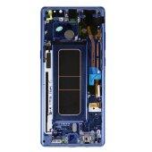 Samsung Galaxy Note 8 N950F LCD Display+Touch Screen (Service Pack) Blau GH97-21065B