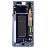Samsung Galaxy Note 9 SM-N960F LCD Display Touch Screen Bildschirm GH97-22269B Blau